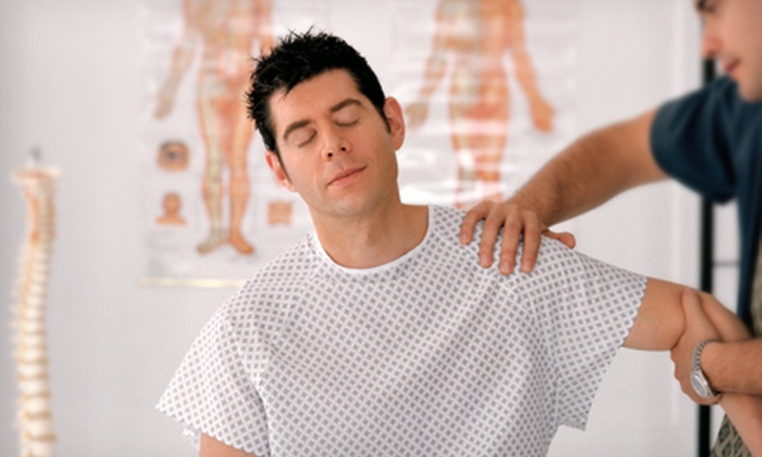 Advanced Injury Rehabilitation - Ogden: Chiropractic Package with One or Three 60-Minute Massages at Advanced Injury Rehabilitation (Up to 82% Off)