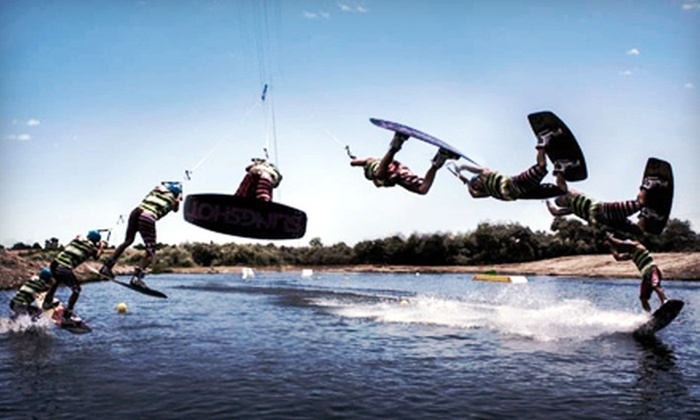 Wake Central Cable Park - Caldwell: One or Three Two-Hour Cable-Wakeboarding Sessions at Wake Central Cable Park in Caldwell (Half Off)