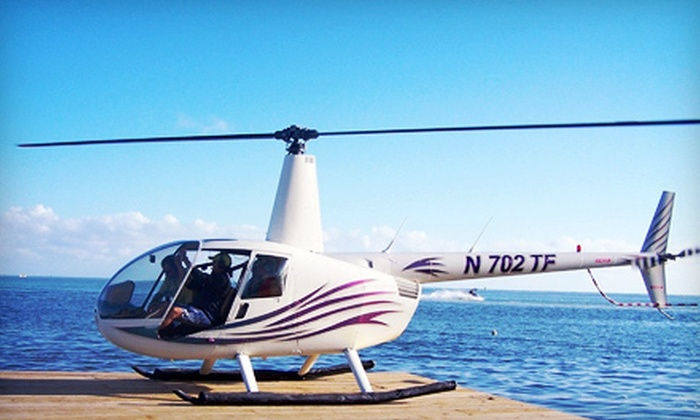 Monumental Helicopters - 5, Clarksville: Helicopter Ride for One, Two, or Three from Monumental Helicopters (Up to 54% Off)