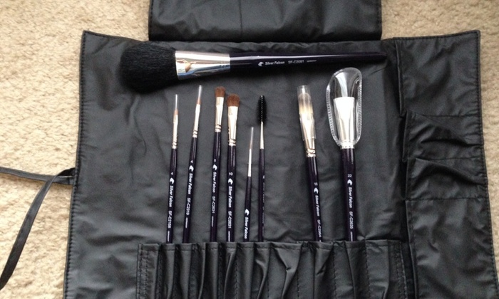 Silver Falcon Brushes - Cosmetic - Florida Center North: $83 for $185 Worth of Makeup — Silver Falcon Brushes - Cosmetic