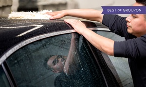 Folsom Hand Car Wash and Detail Center: Car Washes and Details at Folsom Hand Car Wash and Detail Center (Up to 57% Off). Three Options Available.