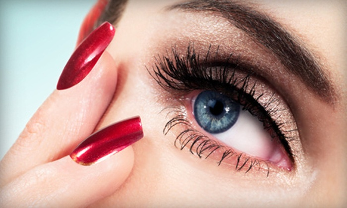 Fashion Face - Astrodome: Full Set of NovaLash Eyelash Extensions with Optional Refill at Fashion Face (Up to 77% Off)