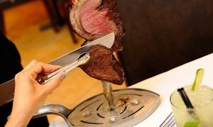 Amor de Brazil Steakhouse: Full Rodizio Dinner for Two or Four at Amor de Brazil Steakhouse (Up to 42% Off)