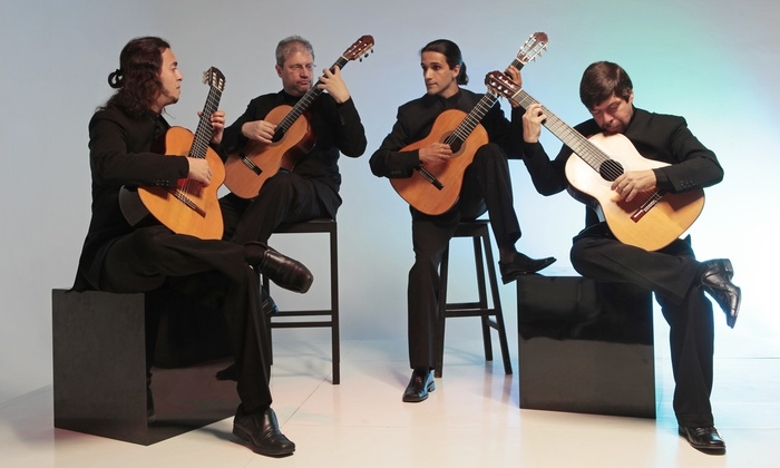 Quaternaglia  - AISD Performing Arts Center: Quaternaglia Guitar Quartet at AISD Performing Arts Center on Saturday, June 20 at 7:30 p.m. (Up to 50% Off)