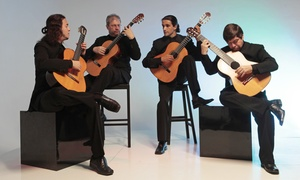Quaternaglia : Quaternaglia Guitar Quartet at AISD Performing Arts Center on Saturday, June 20 at 7:30 p.m. (Up to 50% Off)