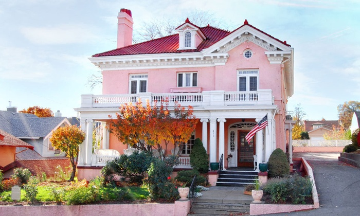 The Pendleton House Bed and Breakfast - Pendleton: Two-Night Stay for Two with a Bottle of Wine and Truffles at The Pendleton House Bed and Breakfast in Pendleton, OR