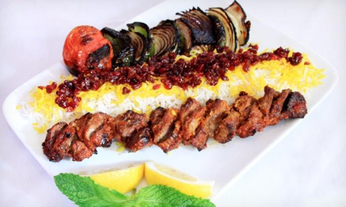 Shiraz Cuisine - Watertown: $15 for $30 Worth of Persian Fare at Shiraz Cuisine in Watertown (Half Off)
