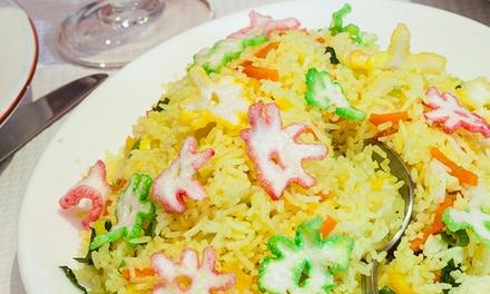 Menu indien complet pour 2 personnes dès 27,90 € au restaurant Aradhana