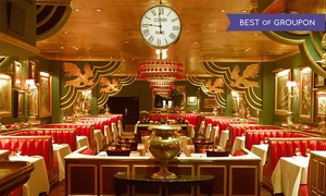 The Russian Tea Room: The Russian Tea Room: $65 for a Three-Course Dinner at Iconic Midtown Restaurant