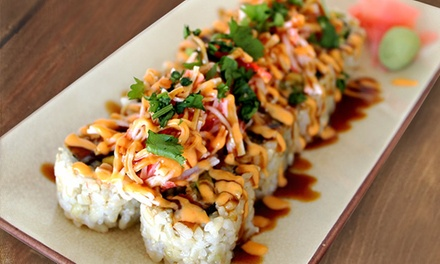 Custom Sushi and Rice Bowls at How Do You Roll? (Up to 40% Off). Two Options Available.