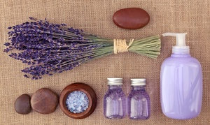 Lavender Flower Day Spa: Massage or Couples' Massage with Essential Oils at Lavender Flower Day Spa (Up to 64% Off)