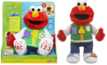 Sesame Street Ready for School Elmo. Free Returns.