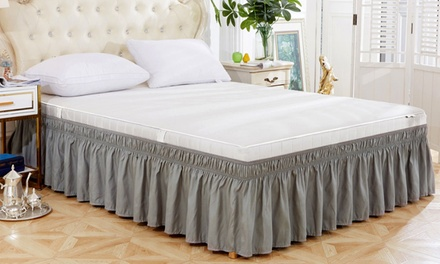 Ruffled Bed Skirt: Queen ($24.95) or King Size ($29.95) (Don't Pay up to $105.99)