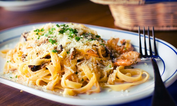 Rocco's Italian Restaurant - Powers: $30 for an Italian Dinner with Appetizer, Dessert, and Wine for Two at Rocco's Italian Restaurant (Up to $61.90 Value)