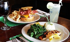 The Corner Pub: Pub Food at The Corner Pub(Up to 45% Off). Two Options Available.