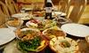 Menu libanais à 3 plats à Anvers