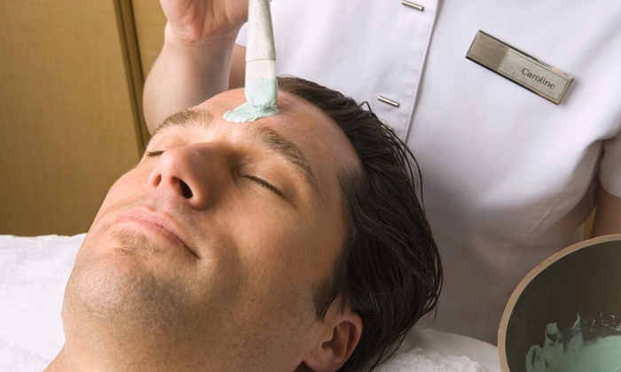 For Him or Her Spa - Multiple Locations: 60-Minute Men's Facial from For Him or Her Spa (52% Off)