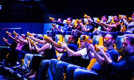 Interactive Laser-Shooting Experience Packages for 2, 4, or Up to 15 at 7D Experience (Up to 56% Off)