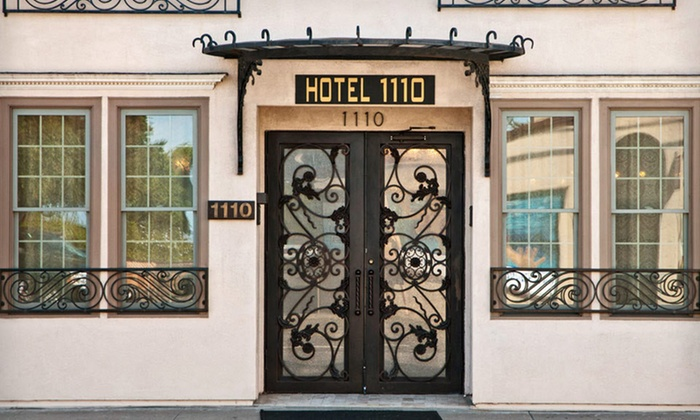 Hotel 1110 - Monterey, CA: One-, Two-, or Three-Night Stay with a Champagne Breakfast at Hotel 1110 in Monterey, CA