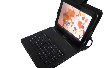 "Double Power 9"" 8GB Android Tablet and Keyboard Case Bundle"