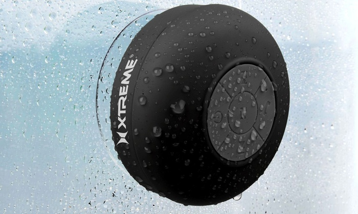 Xtreme Bluetooth Wireless Shower Speaker With Built In Microphone ...