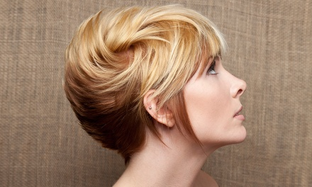 Women's Haircut with NaturalTech Holistic Service or Styling Lesson at The Circle Salon (52% Off)