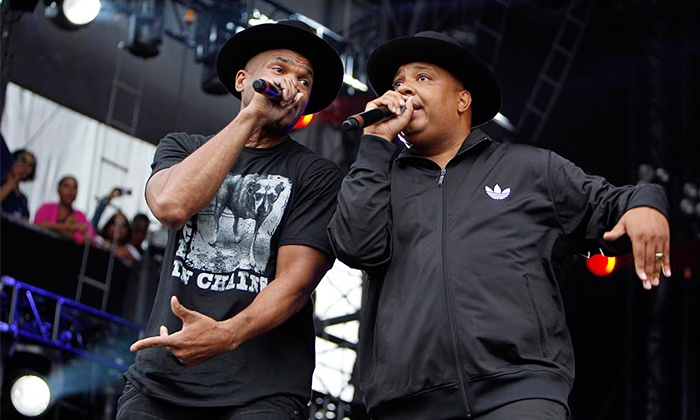 Run DMC - DTE Energy Music Theatre: Run–D.M.C. with The Sugarhill Gang and More at DTE Energy Music Theatre on July 19 at 6 p.m. (Up to 63% Off)
