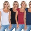 BEAM Women's Scoop Neck T-Shirts