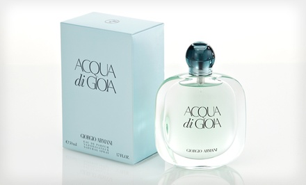groupon daily deal - Acqua Di Gioia 3.4 Fl. Oz. Eau de Parfum for Women by Giorgio Armani