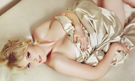 Boudoir Photo-Shoot Package with Retouched High-Resolution Digital Negatives at Boudoir by T (84% Value)