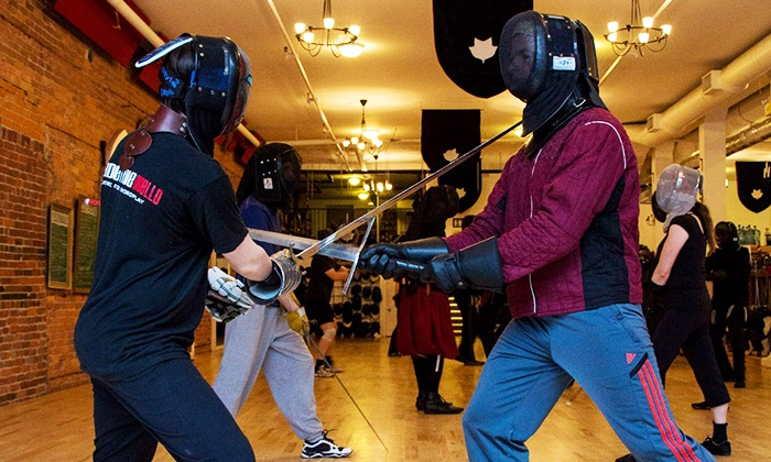Academie Duello - Downtown Vancouver: Eight-Class European Swordplay Program at Academie Duello (52% Off)