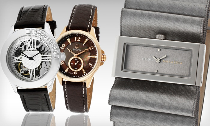 Designer Women's Watches: Designer Women's Watch (Up to 91% Off). Multiple Brands and Styles Available.