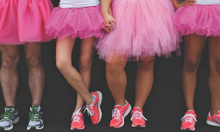 Tutu Fun Events - Cotanchobee Fort Brooke Park: Entry for One, Two, or Four, to Tutu Fun Run from Tutu Fun Events - Tutu Run (Up to 51% Off)