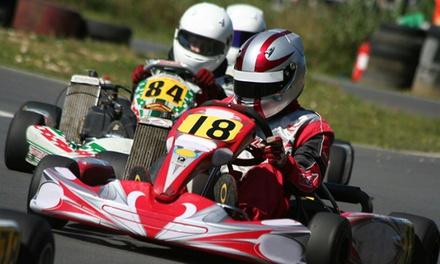 3 sessions de 10 min de karting outdoor chacune pour 1 ou 2 personnes dès 26,90 € au Karting Quad de Montalivet