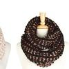 Sparkle Chunky-Knit Infinity Scarf