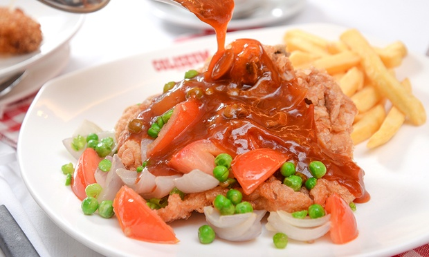 Coliseum Caf 233 Amp Grill Room Meat Platter Or Hainanese