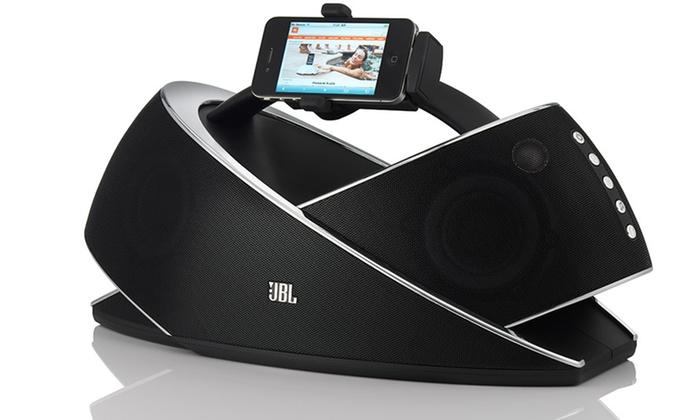 jbl onbeat xtreme speaker dock groupon goods. Black Bedroom Furniture Sets. Home Design Ideas