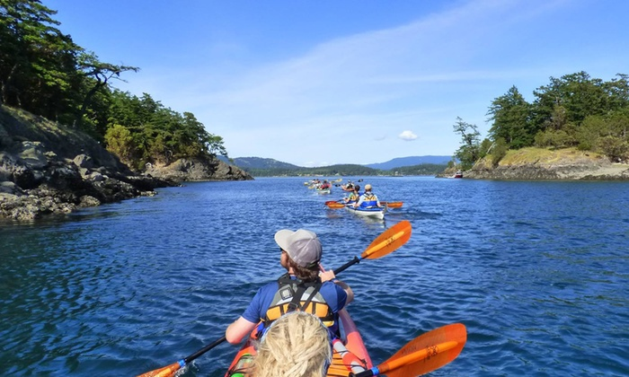 Outdoor Adventure Center - Lopez Island Sea Kayak at Spencer Spit State Park: Three-Hour Lopez Island Sea Kayak Tour for One or Two from Outdoor Adventure Center (Up to 57% Off)