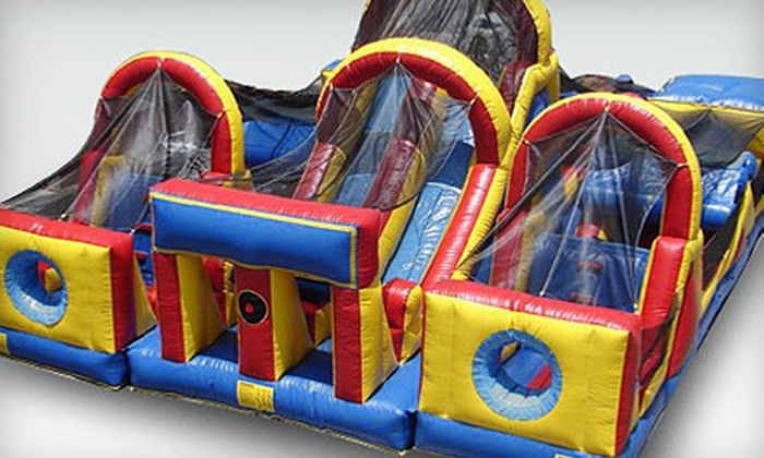 Bing Boing Bounce - Holiday Hills: Five Playtime Sessions or a Private Party for Up to 20 Kids at Bing Boing Bounce (Up to 58% Off)