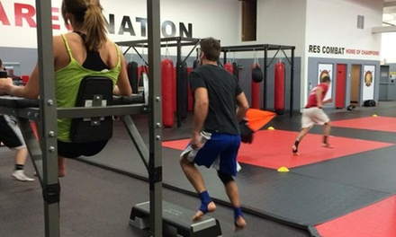 Four Weeks of Fitness and Conditioning Classes at Ares Combat Sports Academy (66% Off)