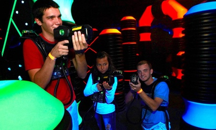 Four Laser Tag Passes and Arcade Fun Card or One Unlimited Winter Pass at Renaissance Fun Park (Up to 55% Off)