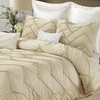4-Piece Isabella Embellished Duvet Set