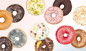 HAPPY DONAZZ & Co: 10 oder 20 Donuts nach Wahl bei Happy Donazz & Co (32% sparen*)