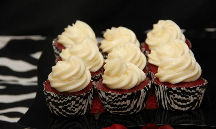 Sugar Rush Dessert Catering - Sugar Rush Dessert Catering: Two Dozen Cupcakes or Two Two-Layer Cakes from Sugar Rush Dessert Catering (Up to 67% Off)