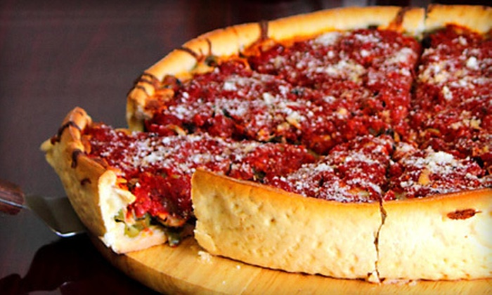 Chicago Street Pizza - Buckner Place: $10 Worth of Deep-Dish Pizza and Italian Beef