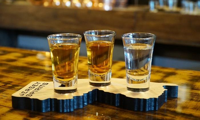 Jersey Spirits Distilling Co. - Jersey Spirits Distilling Co.: Distillery Tour and Shot Flight for 2, 4, or 6 at Jersey Spirits Distilling Co. (Up to 49% Off)