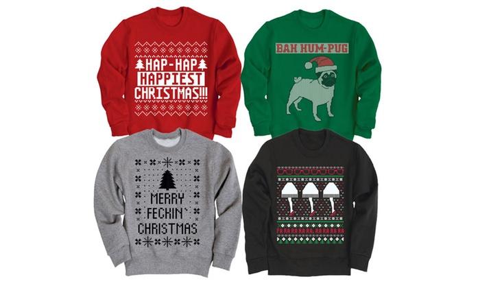 Men's Ugly Christmas Sweatshirts
