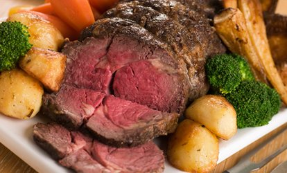 image for Carvery Roast Lunch for Two or Four at Hardwicke Hall Manor Hotel (47% Off)
