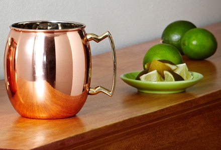 Old Dutch Solid-Copper Moscow Mule Mug with Brass Handle and 16 Fl. Oz. Capacity. Free Returns.