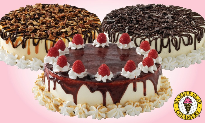 Marble Slab Creamery - Multiple Locations: $19.99 for One Large Ice-Cream Cake at Marble Slab Creamery (Up to a $37.95 Value)